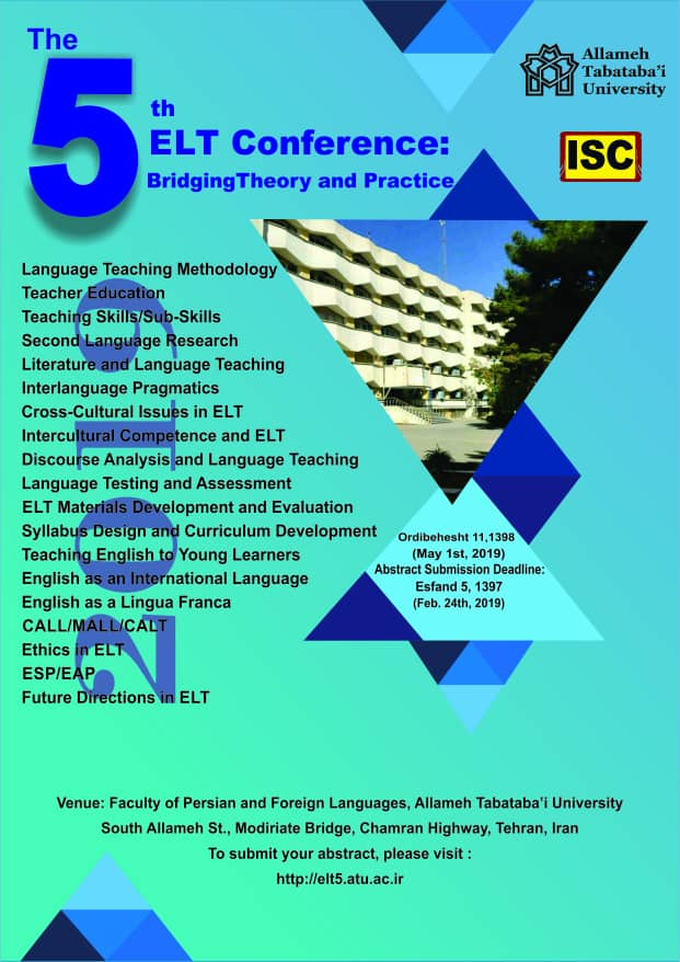 The 5th ELT Conference: Bridging Theory and Practice
